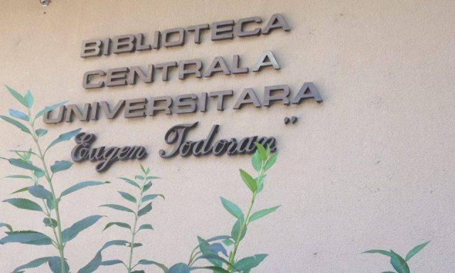 Biblioteca Centrala Universitara Eugen Todoran Timisoara