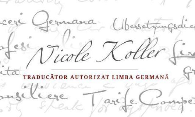 Traducator Germana Romana Timisoara